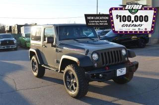 Used 2017 Jeep Wrangler Rubicon, Bluetooth, GPS Sat Radio for sale in London, ON