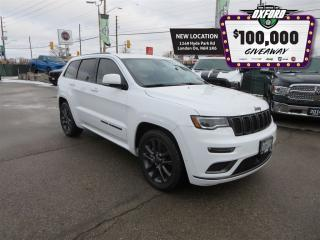 Used 2018 Jeep Grand Cherokee Overland - V6, Sunroof, Parksense, Heated Seats for sale in London, ON