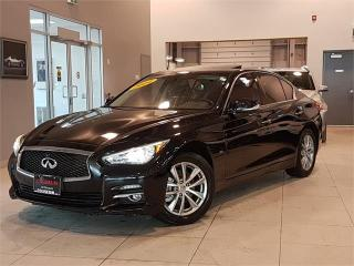Used 2014 Infiniti Q50 PREMIUM-AWD-NAVIGATION-CAMERA-LOADED for sale in York, ON