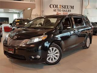 Used 2015 Toyota Sienna XLE-AWD-NAVIGATION-CAMERA-TV/DVD-LEATHER-SUNROOF for sale in York, ON