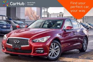 Used 2014 Infiniti Q50 Premium AWD|Nav|Sunroof|BOSE|Leather|Backup Cam|17