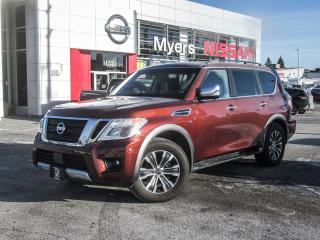 Used 2017 Nissan Armada NAVIGATION, LEATHER, SUNROOF, BACK UP CAMERA, INTELLIGENT KEY for sale in Orleans, ON