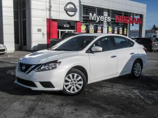Used 2017 Nissan Sentra S, A/C, BLUETOOTH, CRUISE CONTROL for sale in Orleans, ON