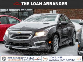 Used 2016 Chevrolet Cruze for sale in Barrie, ON