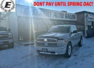 Used 2012 RAM 1500 ST 4X4 Quad Cab for sale in Barrie, ON
