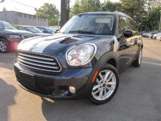 Used 2011 MINI Cooper Countryman PANORAMA ROOF~BLUETOOTH CONNECTIVITY~LEATHER !!! for sale in Burlington, ON
