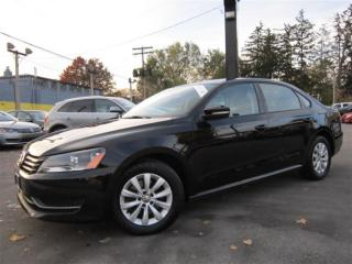 Used 2013 Volkswagen Passat 2.5L 53,000KMS ~ LOW KMS ~ AUTOMATIC !!! for sale in Burlington, ON
