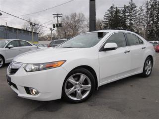Used 2012 Acura TSX W/PREMIUM PKG/SUNROOF/LEATHER/AUTO !!! for sale in Burlington, ON