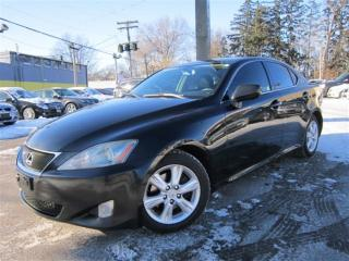 Used 2006 Lexus IS 250 6 SPEED MANUAL~NAVIGATION~WARRANTY AVAILABLE !!! for sale in Burlington, ON
