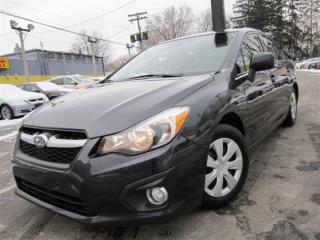 Used 2014 Subaru Impreza 2.0I ~ ONE OWNER ~ 70KMS ~ AWD ~ MANUAL !!!! for sale in Burlington, ON