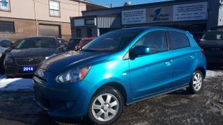 Used 2014 Mitsubishi Mirage SE BLUETOOTH, H/SEATS for sale in Etobicoke, ON
