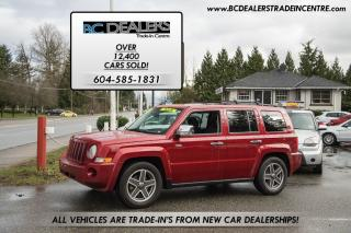 Used 2009 Jeep Patriot North Edition 4x4, Heated Seats, Bluetooth, Loaded for sale in Surrey, BC
