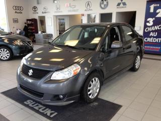 Used 2010 Suzuki SX4 Sport + Aux Cd Mp3 for sale in Sherbrooke, QC