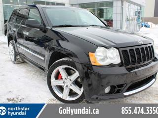 Used 2010 Jeep Grand Cherokee SRT8 NAV/BREMBOBREAKS/SUNROOF/HEATEDSEATS for sale in Edmonton, AB