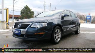 Used 2007 Volkswagen Passat 2.0T|NO ACCIDENT|LOW KM|ALLOYS|LEATHER|CERTIFIED for sale in Oakville, ON