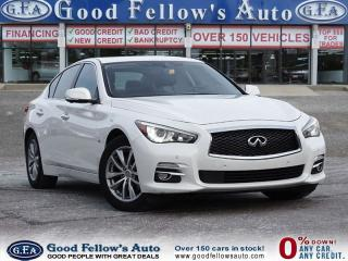 Used 2014 Infiniti Q50 LEATHER SEATS, SUNROOF,NAVIGATION, AWD, 6 CYL 3.7L for sale in North York, ON