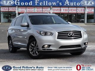 Used 2014 Infiniti QX60 POWER TAILGATE, AWD, 7 PASSENGER, LEATHER SEATS for sale in North York, ON