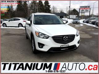 Used 2016 Mazda CX-5 GS-Sky+AWD+GPS+Camera+Sunroof+Heated Power Seats++ for sale in London, ON