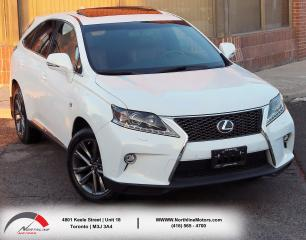Used 2015 Lexus RX 350 F Sport Series 2| Navigation|Backup| HUD|Sunroof for sale in North York, ON