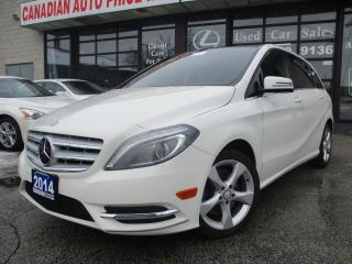 Used 2014 Mercedes-Benz B250 -Sports Tour-LETHER-PANO-ROOF-CAMERA-BLUETOOTH for sale in Scarborough, ON