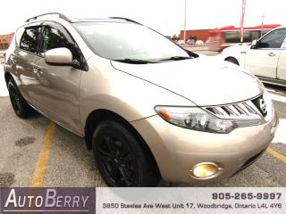 Used 2009 Nissan Murano SL - AWD - Pano for sale in Woodbridge, ON