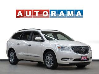 Used 2013 Buick Enclave LEATHER  SUNROOF 7 PASSENGER BACKUP CAMERA AWD for sale in North York, ON