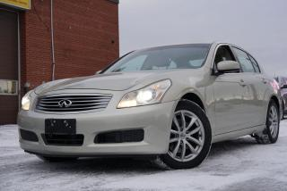 Used 2007 Infiniti G35X Luxury, Navi, Camera, Bluetooth for sale in North York, ON