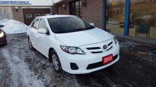 Used 2013 Toyota Corolla CE for sale in Brampton, ON