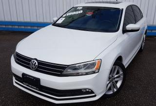 Used 2015 Volkswagen Jetta Highline *TDI DIESEL* for sale in Kitchener, ON