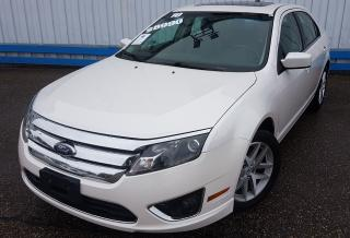 Used 2010 Ford Fusion SEL AWD *LEATHER-SUNROOF* for sale in Kitchener, ON