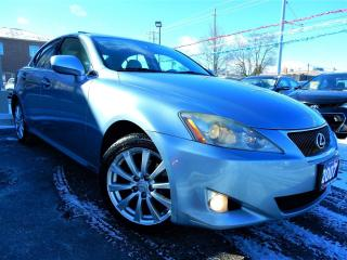 Used 2007 Lexus IS 250 AWD | PREMIUM | LEATHER.ROOF | NO ACCIDENTS for sale in Kitchener, ON