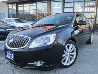 Used 2014 Buick Verano CONVENIENCE 1-LEATHER-CAMERA-BLUETOOTH for sale in Scarborough, ON