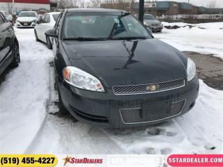Used 2012 Chevrolet Impala LS | CAR LOANS FOR ALL CREDIT for sale in London, ON