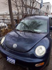 Used 2000 Volkswagen Beetle blue for sale in North York, ON