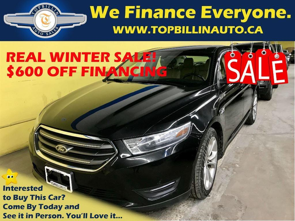 used 2013 ford taurus sel with leather backup camera for sale in concord ontario. Black Bedroom Furniture Sets. Home Design Ideas