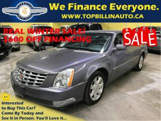 Used 2007 Cadillac DTS with ONLY 74K kms, Extra CLEAN for sale in Concord, ON