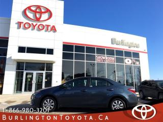 Used 2015 Toyota Corolla LE LOW LOW KM'S for sale in Burlington, ON