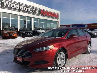 Used 2013 Ford Fusion SE  - Bluetooth -  SYNC -  SiriusXM - $111.32 B/W for sale in Woodstock, ON