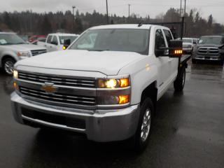 Used 2015 Chevrolet Silverado 3500HD LT Crew Cab 8 Foot Flat Deck 4WD for sale in Burnaby, BC