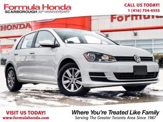 Used 2017 Volkswagen Golf 1.8 TSI | TRENDLINE | REAR-VIEW CAMERA for sale in Scarborough, ON