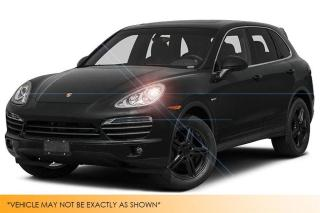 Used 2014 Porsche Cayenne Sport Chrono, Pano Roof, Navig for sale in Winnipeg, MB