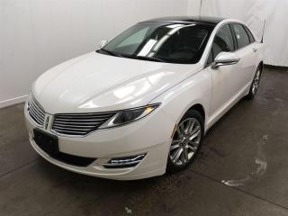 Used 2013 Lincoln MKZ FWD, Navi, Cam, Pano Roof, Hea for sale in Winnipeg, MB