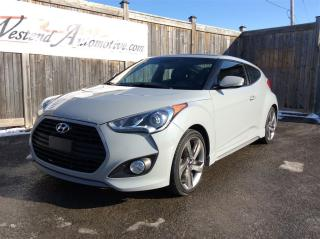 Used 2013 Hyundai Veloster Turbo w/Matte Grey for sale in Stittsville, ON