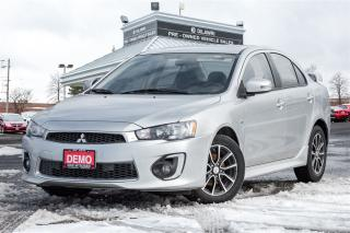 Used 2017 Mitsubishi Lancer SE LTD | SUNROOF| HTD | BLUETOOTH| SPOILER| DEMO| for sale in Mississauga, ON