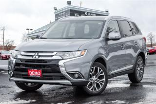 Used 2017 Mitsubishi Outlander SE|TOURING|AWD| DEMO|7 SEATS|SUNROOF|18 ALLOYS| for sale in Mississauga, ON