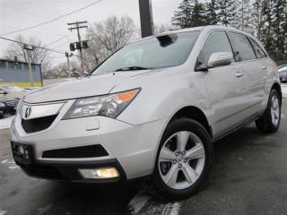 Used 2011 Acura MDX BACK-UP CAMERA ~ 83KMS ~ AWD ~ SUNROOF !!! for sale in Burlington, ON