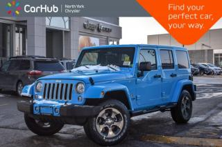 New 2018 Jeep Wrangler JK Unlimited NEW CAR Sahara 4x4|Connect.,LED,DualTopPkgs|Nav|18