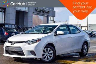 Used 2015 Toyota Corolla LE|Backup_Cam|Keyless_Entry|Heat Frnt.Seats|Bluetooth for sale in Thornhill, ON