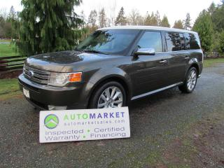 Used 2011 Ford Flex LIMITED, AWD, NAV PANO ROOF, INSP, FREE WARRANTY, FINANCE! for sale in Langley, BC