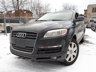 Used 2007 Audi Q7 PREMIUM,, CERTIFIED for sale in Scarborough, ON